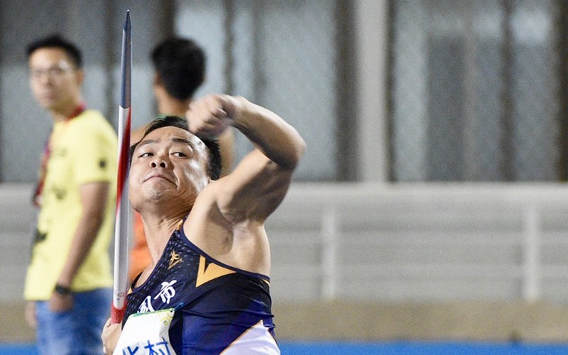 全運會》「黃金右臂」鄭兆村83公尺22破大會紀錄 完成3連霸