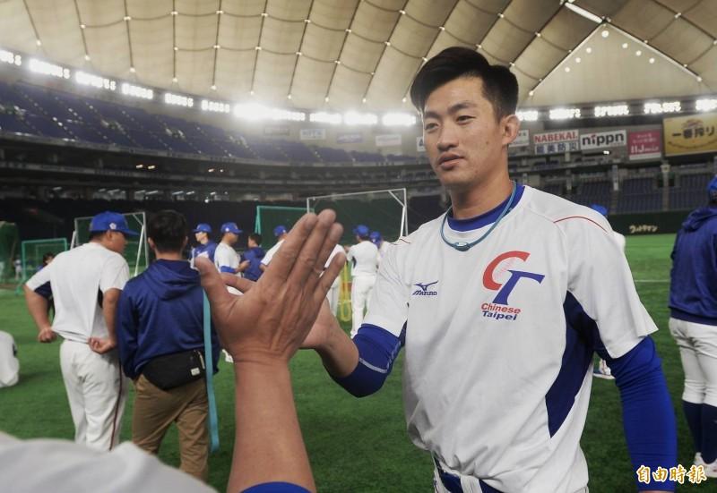 12強》吳昇峰對決美國  合庫教頭對子弟兵有信心