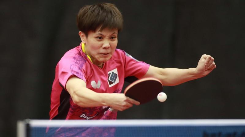 桌球年終賽》激戰7局不敵日本一姐 鄭怡靜無緣8強
