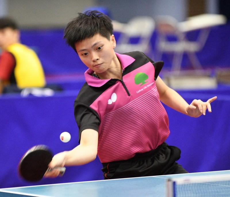 桌球》團體世錦賽國手選拔 黃歆搭上末班車