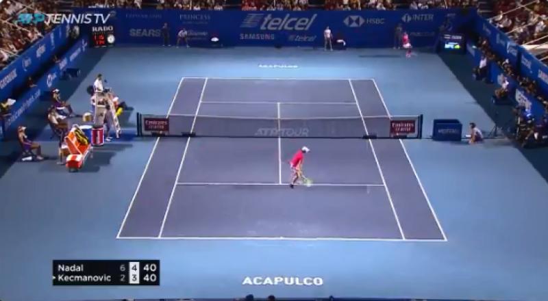 網球》納達爾底線超狂神救球 ATP:你在跟我開玩笑?(影音)