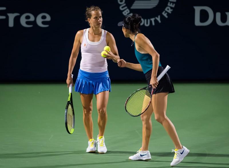 杜哈賽》澳網新科女單冠軍換搭檔無用 謝淑薇晉女雙4強