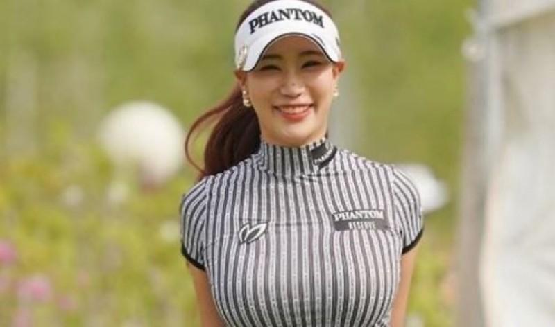 高球》韓國美女超性感賽服一夕爆紅 「希望大家關注我的球技」