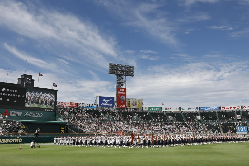 棒球》甲子園交流大會開打 去年夏甲決賽冤家再聚首
