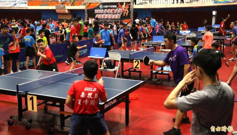 全國少年桌球菁英賽 463名選手聚鳳山爭取國手選拔資格
