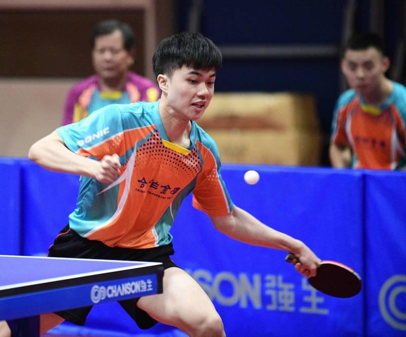 總統盃桌球賽》台灣一哥、一姐領軍  合庫連兩年包攬雙冠