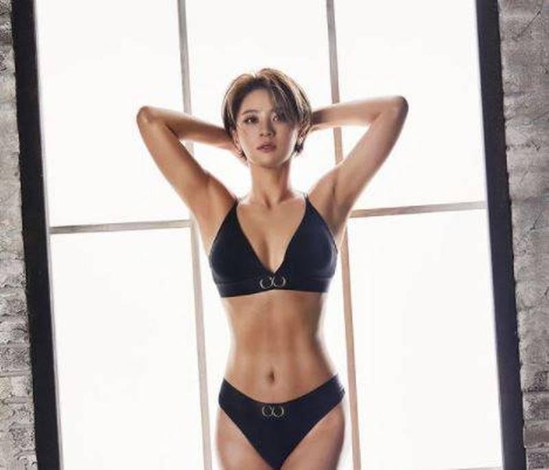 高球》超辣!5週瘦7公斤 南韓崔羅蓮著內衣秀出好身材