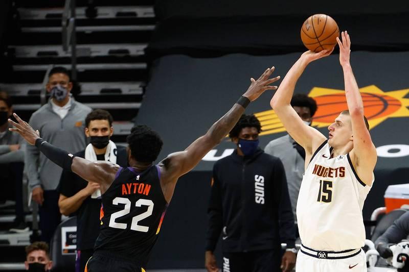 NBA》金塊約基奇29分22籃板 太陽連兩天延長賽輸球