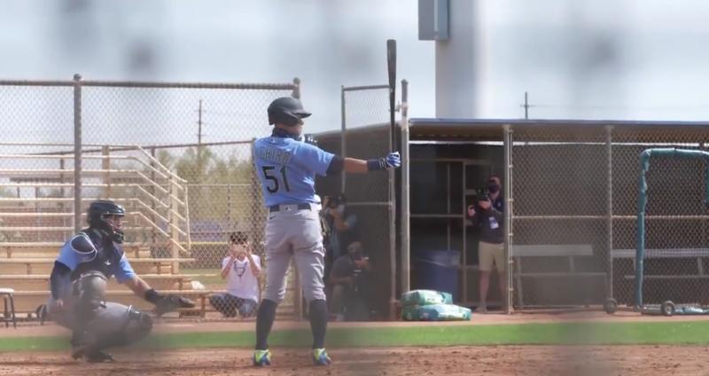 MLB》熟悉的打擊姿勢!鈴木一朗打水手隊內賽驚喜上場(影音)