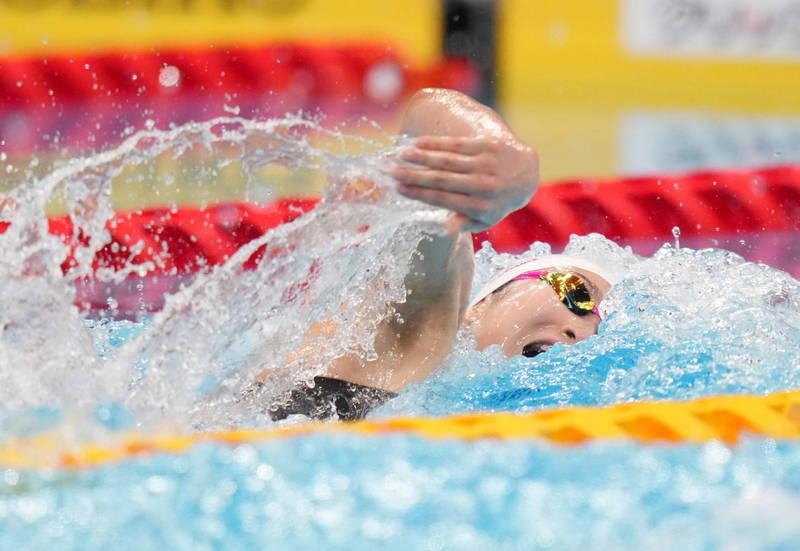 游泳》日「抗癌女鬥士」400公尺接力達標 獲第二項東奧參賽資格