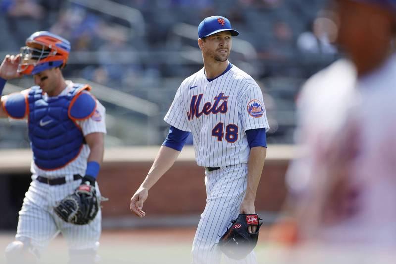 MLB》德葛隆成「全世界第2不幸投手」 美媒:只有1個人比他更慘