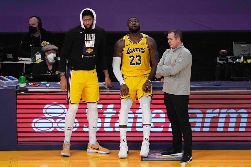 NBA》詹皇、AD本季因傷所苦 湖人不續約台裔首席訓練師