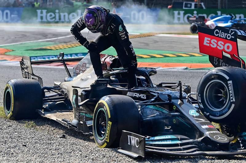 F1》遭質疑受傷是做秀 漢米爾頓卯起來回應