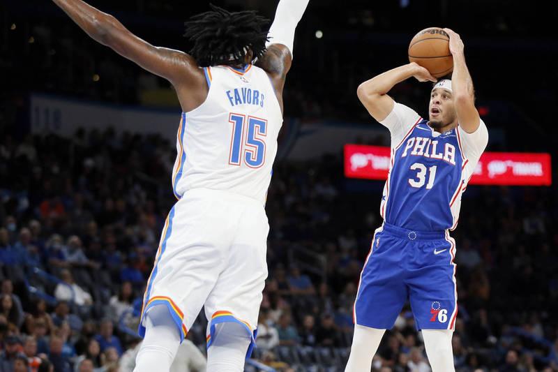 NBA》柯瑞兄弟同日發威 小柯瑞:我攻擊很有效率、不像某人濫投