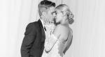 小賈斯汀與辣模妻婚紗曝光!絕美復古透紗蕾絲祝福直接大方「寫在這」