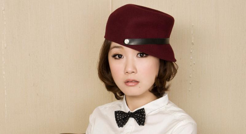 短髮女孩 好萌的帽子髮型