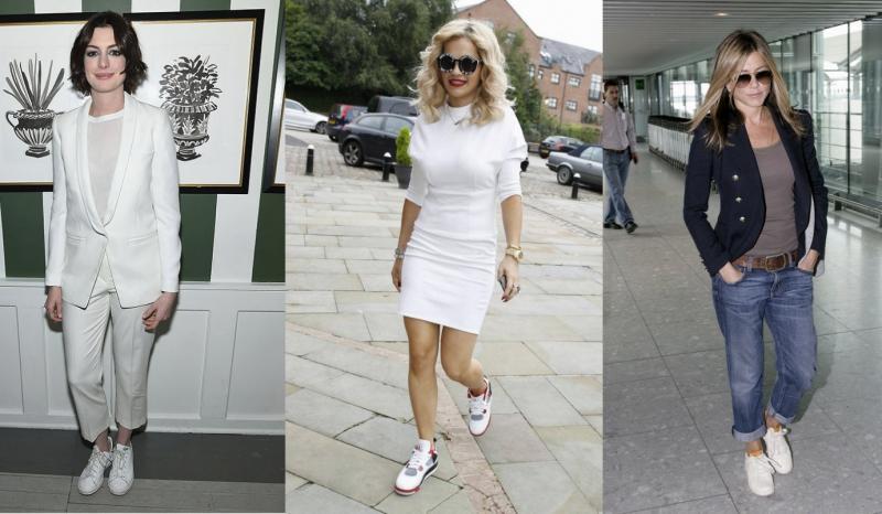 365天怎麼穿都不厭倦,名人瘋狂迷戀白球鞋