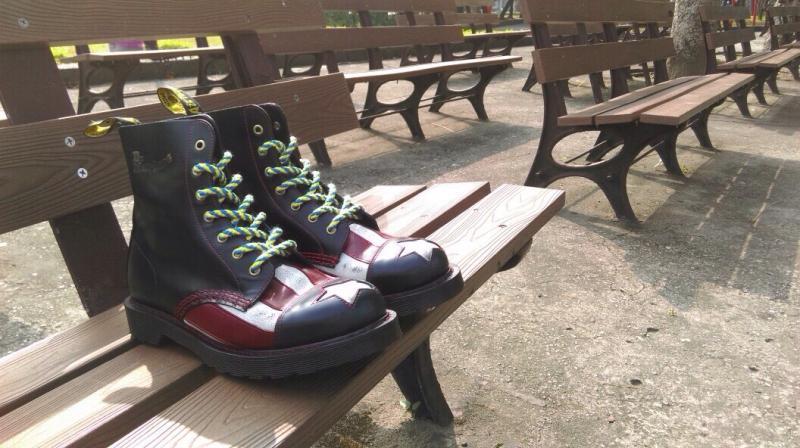 馬汀大夫美國國旗靴全球限量 1460 雙!台灣只有 40 雙!