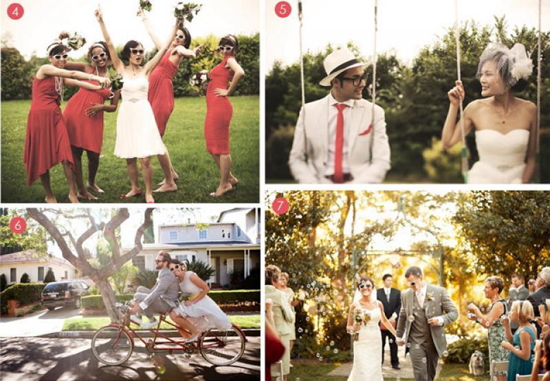 掌握7要素 打造非主流的嬉皮婚禮