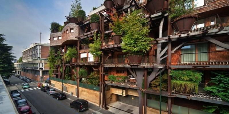 這個城市有點綠!來自義大利的綠色公寓