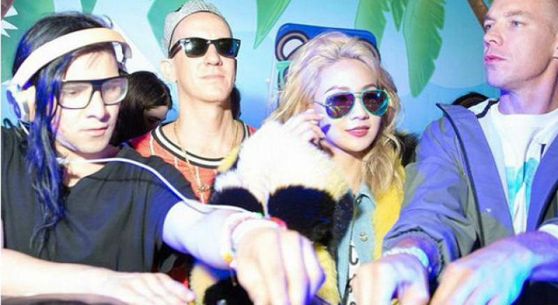 南韓最潮天后CL 朋友都是好萊塢時尚咖