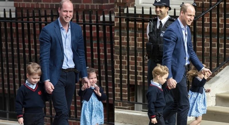 「哥在這ㄦ!」喬治哥教小王子的尿布外交二三事
