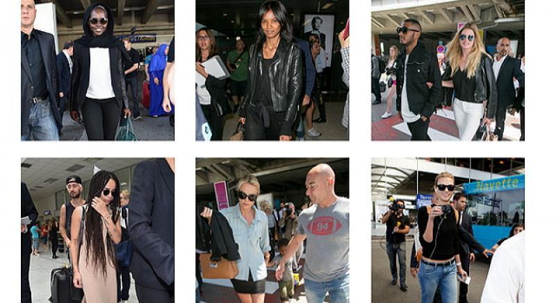 影展前的機場時尚 原來大明星都愛?