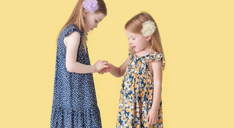 女童穿搭也吹正韓洋裝風 孩子的炎夏涼快選擇