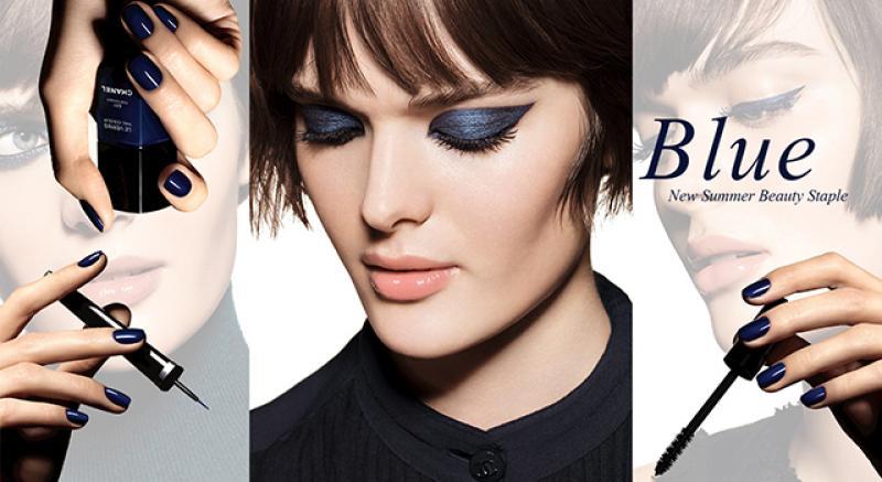 神秘波斯藍的4種好駕馭彩妝技巧