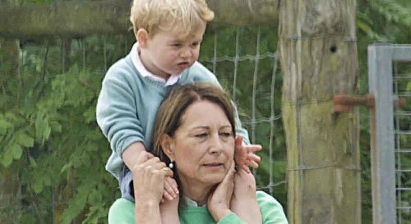 喬治小王子挖鼻孔照樣萌翻!與外婆的午後超放鬆