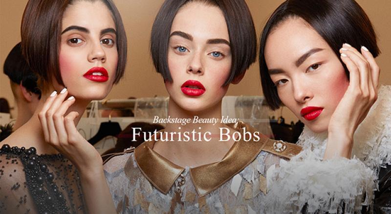 未來的鮑伯頭長這樣!香奈兒高級訂製秀妝髮解析