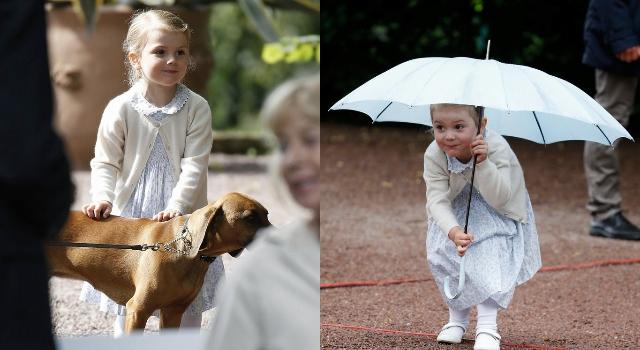 皇室小公主笑容太可愛  連穿搭也成為時尚指標