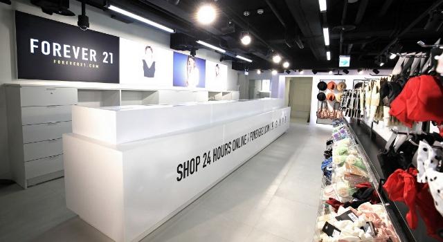 東區也成為快時尚戰場  FOREVER 21敦化店將正式開幕