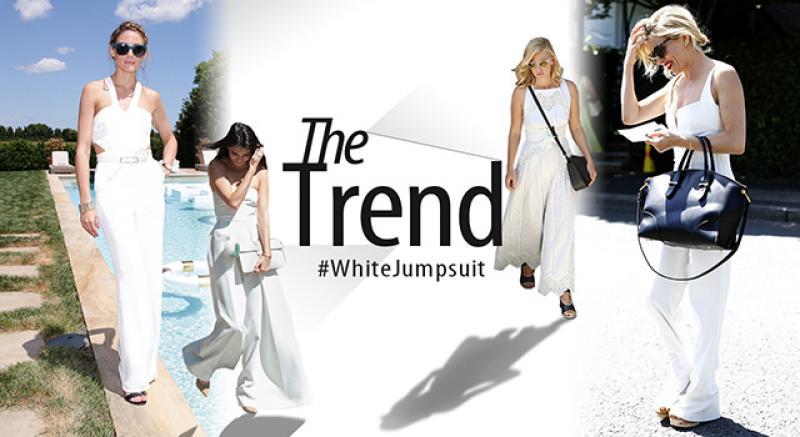 本季潮流關鍵字!快穿上白色連身褲吧