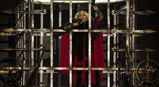 今晚開唱!瑪丹娜晚上舞台裝搶先看