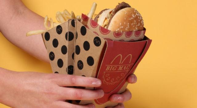 漢堡薯條漂亮帶著走!好點子讓速食更時尚!