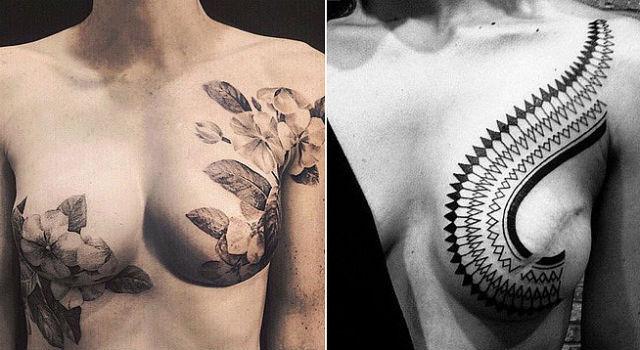 這才是真美!盛開在乳房上的美麗印記