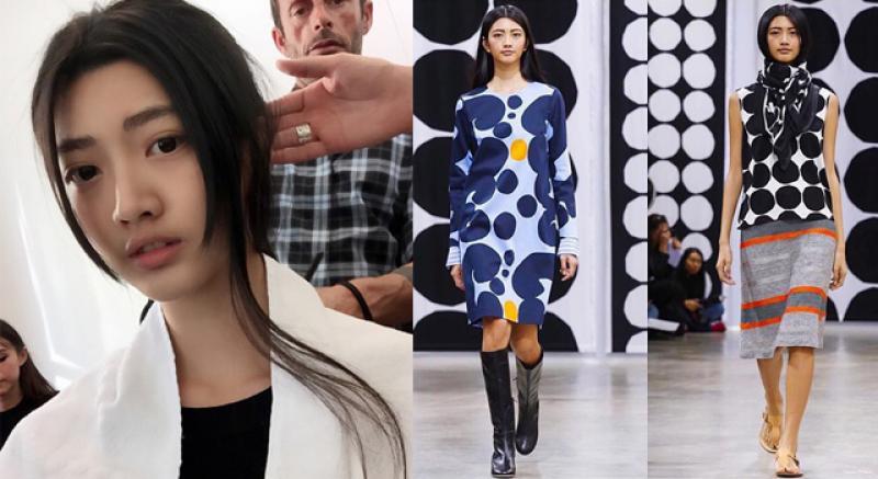 驕傲!又一台灣名模登巴黎時裝週