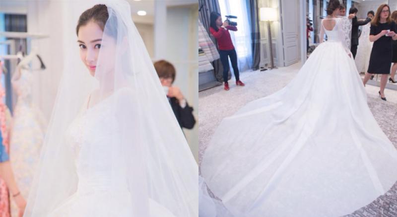 Angelababy世紀婚紗 費時費工但有夠完美