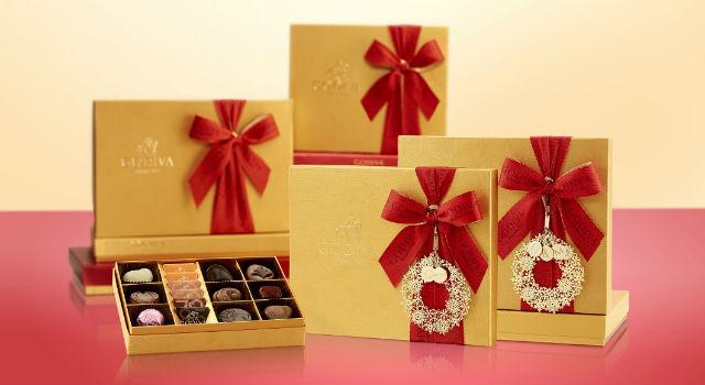 字母禮盒吊飾首登場  GODIVA 2015耶誕限量禮盒總盤點