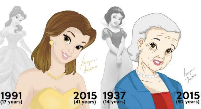 白雪公主也是會老的!真實年齡的迪士尼公主 誰最需要抗老呢?