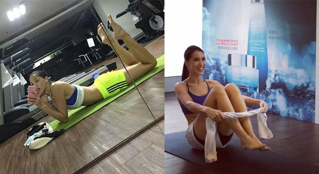iStyle獨家影片>>混血名模Akemi 一條毛巾練出大腿縫