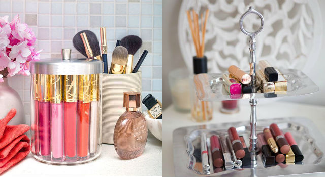 唇膏控必學!超實用口紅收納絕招拯救你的化妝台