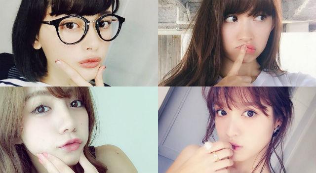 自拍表情無極限!日本女生大流行「嘴自拍」你學會了沒?