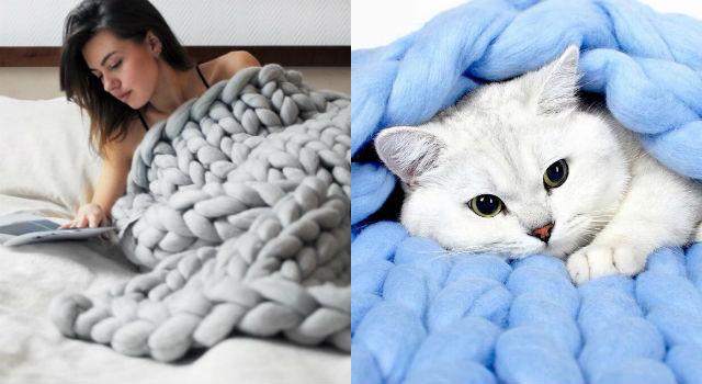 巨人的圍巾?療癒系巨大針織萌物暖到心坎裡