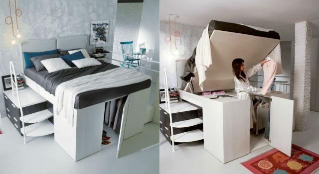 床下就是衣帽間?小坪數必知空間收納神發明