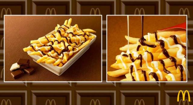 期間限定!甜鹹的惡魔滋味~日本麥當勞推出超過份餐點