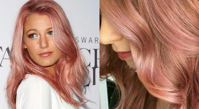 髮色也能「玫瑰金」?超迷人色澤史上最貴氣
