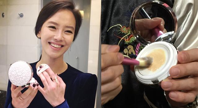 還停留在氣墊粉餅?韓國「氣孔粉餅」讓女星臉亮到爆水