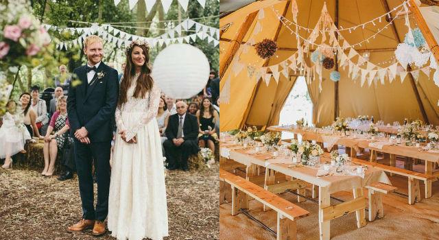 新娘都融化了!史上最浪漫「森林系婚禮」就要這樣辦